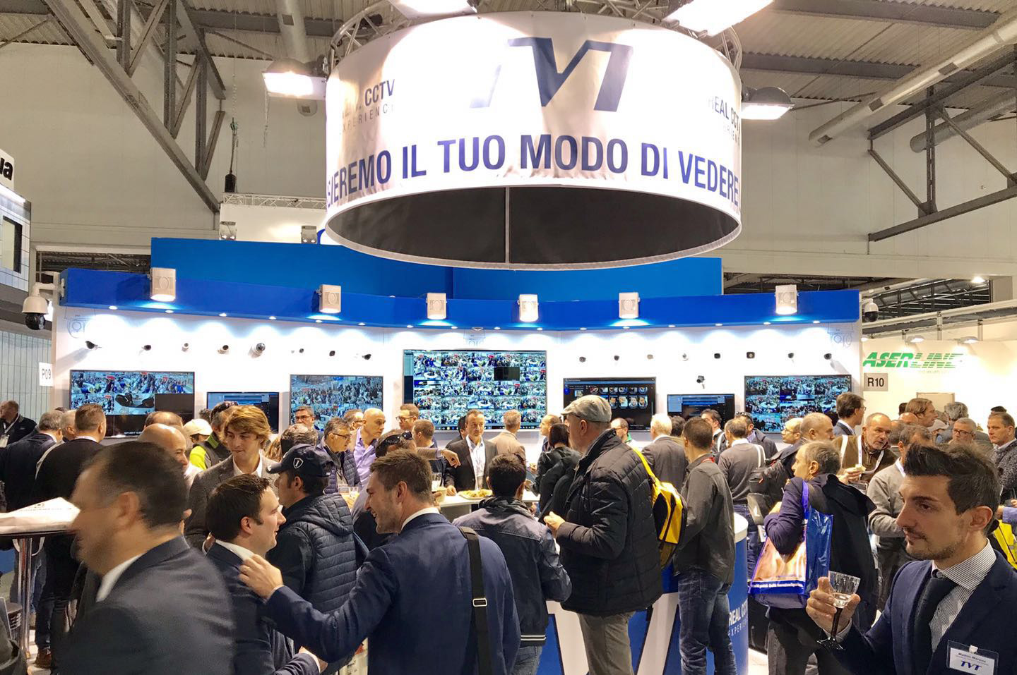 TVT Showcased the Latest Technologies, Products and Solutions in SICUREZZA2017