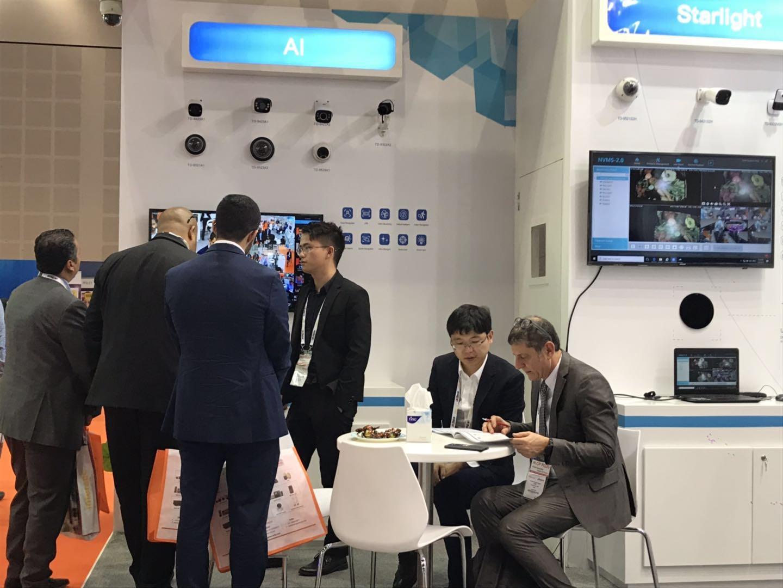 TVT Showcased innovative AI solution at Intersec 2019-Shenzhen TVT
